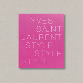 Buy Yves Saint Laurent: Style